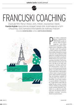 Magazyn sens artykuł o coachingu