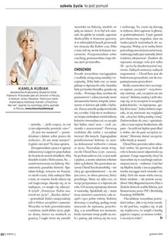 Artykuł o mnie Kamila Kubiak