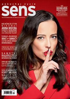 Anna Mucha magazyn Sens